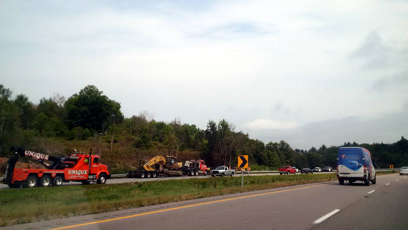 Highway 401 Mallorytown Crash Tractor Trailer Sep0315 Edited