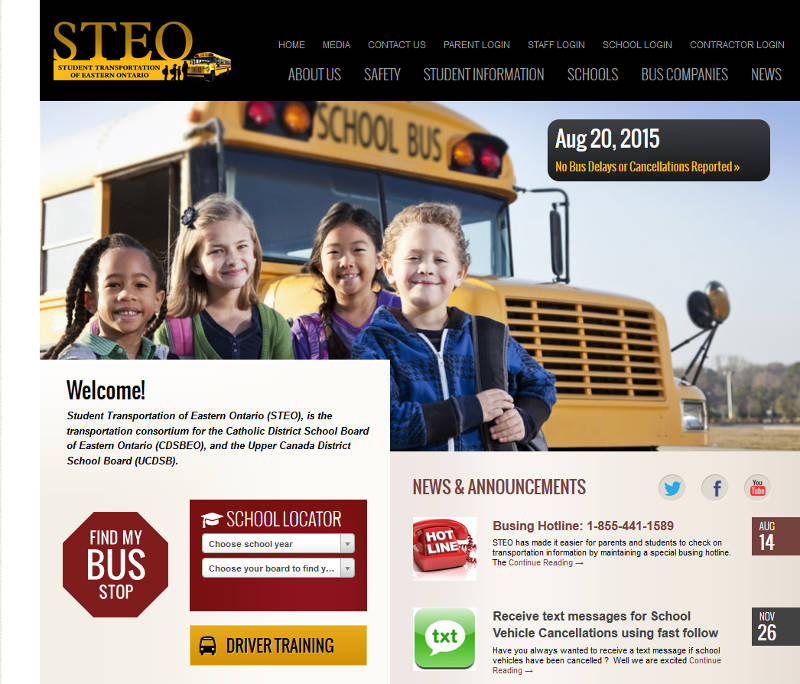 STEO Website Busing Hotline Aug2015