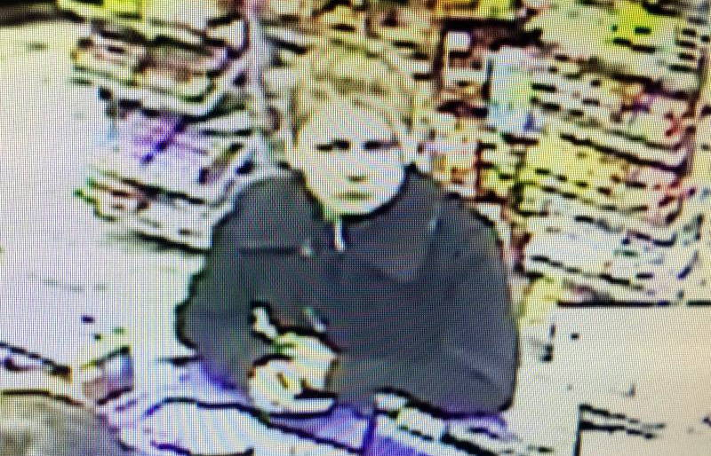 In this Feb. 3, 2016 image from security camera footage, Grenville County O.P.P. are seeking this woman in connection to the theft of gas from a station in Prescott. (O.P.P. via Newswatch Group)