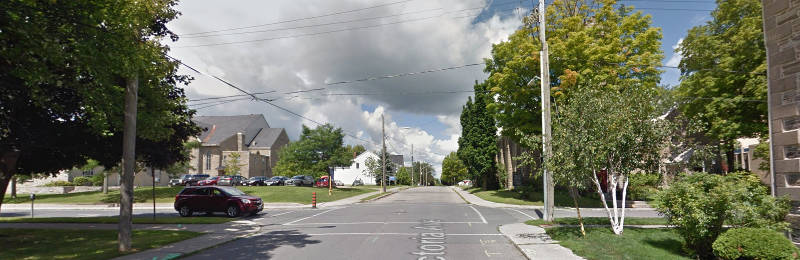 Victoria Street Brockville At Pine Mar1816