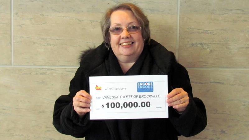 Vanessa Tulett Brockville Encore Lotto Winner Apr0816 Edited
