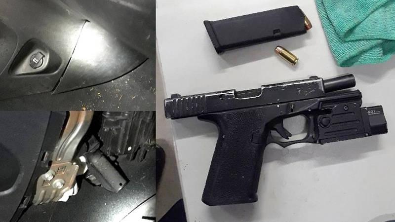 Handgun Found Traffic Stop Nov2619 E