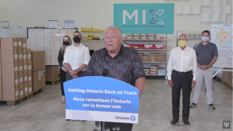 Slight uptick in Ontario COVID-19 cases as Stage 3 reopening underway
